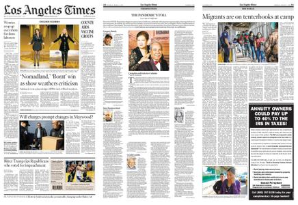 Los Angeles Times – March 01, 2021