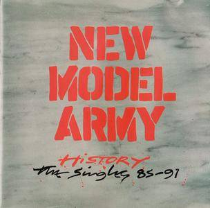 New Model Army - History: The Singles 85-91 (1992)