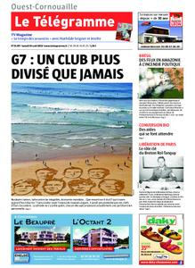 Le Télégramme Ouest Cornouaille – 24 août 2019