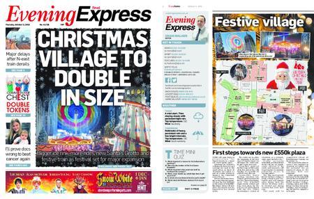 Evening Express – October 11, 2018
