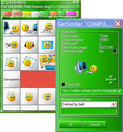 GetSmile 1.9 + Smiley Central + 30 Packs