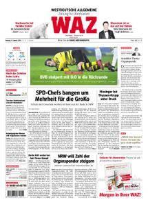 WAZ Westdeutsche Allgemeine Zeitung Oberhausen-Sterkrade - 15. Januar 2018