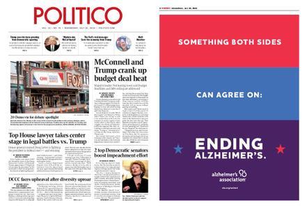 Politico – July 31, 2019