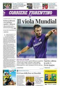 Corriere Fiorentino La Toscana - 15 Gennaio 2018