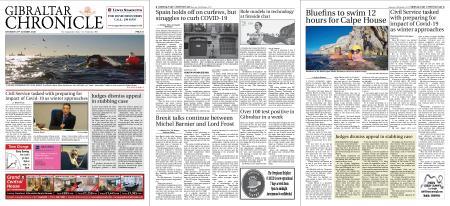 Gibraltar Chronicle – 24 October 2020