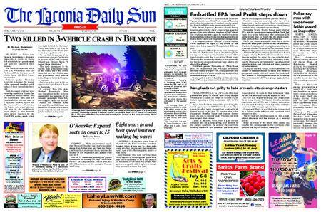 The Laconia Daily Sun – July 06, 2018