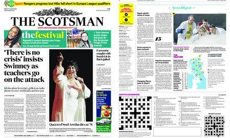 The Scotsman – August 17, 2018