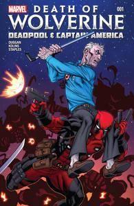 Death of Wolverine - Deadpool  Captain America 01 2014 digital