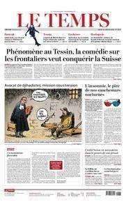 Le Temps - 16 janvier 2018