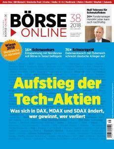 Börse Online - 20 September 2018