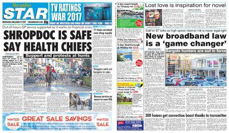 Shropshire Star Shrewsbury Edition – December 27, 2017