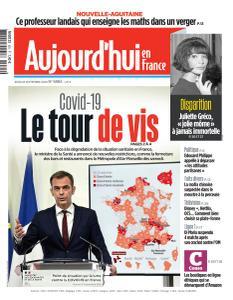 Aujourd'hui en France - 24 Septembre 2020