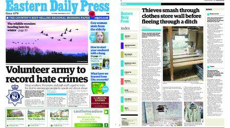 Eastern Daily Press – November 02, 2017