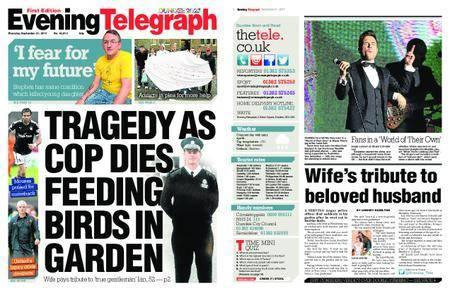 Evening Telegraph First Edition – September 21, 2017