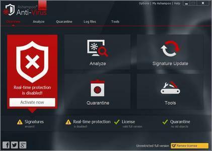 Ashampoo Anti-Virus 2016 1.3.0 DC 15.02.2017 Multilingual