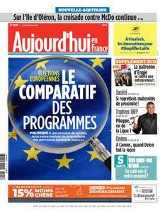 Aujourd'hui en France – 20 mai 2019