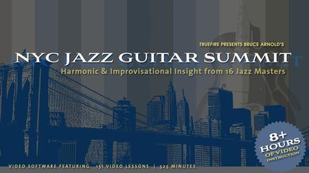 NYC Jazz Guitar Summit
