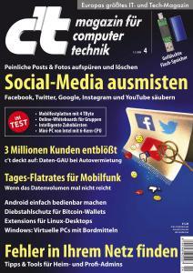 c't Magazin Nr.4 - 1 Februar 2020