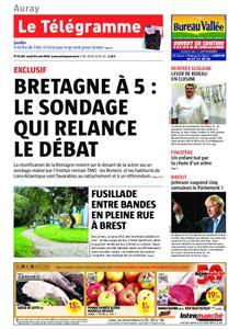 Le Télégramme Auray – 29 août 2019