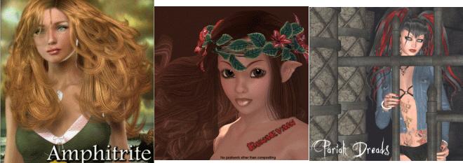 3D: Runaevain | Amphitrite Hair | Pariah Dreads