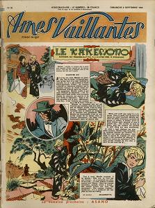 Ames Vaillantes - N° 36 (1956)