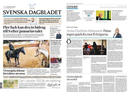 Svenska Dagbladet – 26 februari 2019