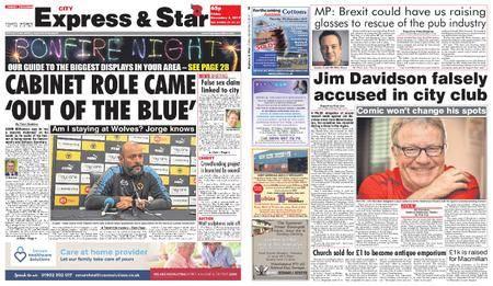 Express and Star City Edition – November 03, 2017