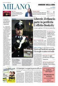 Corriere della Sera Milano - 18 Novembre 2017