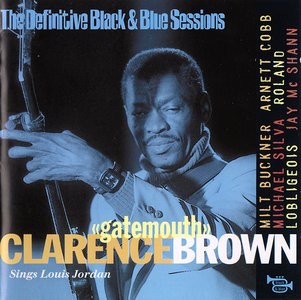 Clarence 'Gatemouth' Brown - Sings Louis Jordan (1973)