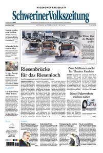 Schweriner Volkszeitung Hagenower Kreisblatt - 28. Februar 2018