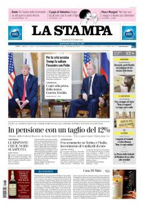 La Stampa Torino Provincia e Canavese - 30 Novembre 2018