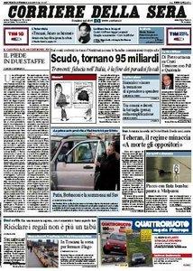 Il Corriere della Sera (30-12-09)