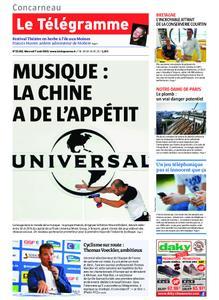 Le Télégramme Concarneau – 07 août 2019