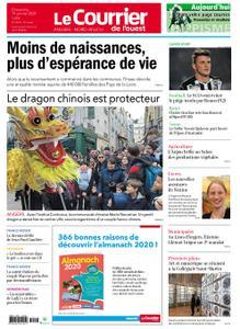 Le Courrier de l'Ouest Nord Anjou – 19 janvier 2020