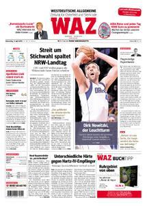 WAZ Westdeutsche Allgemeine Zeitung Oberhausen-Sterkrade - 11. April 2019