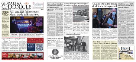 Gibraltar Chronicle – 05 December 2020
