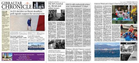 Gibraltar Chronicle – 11 April 2019