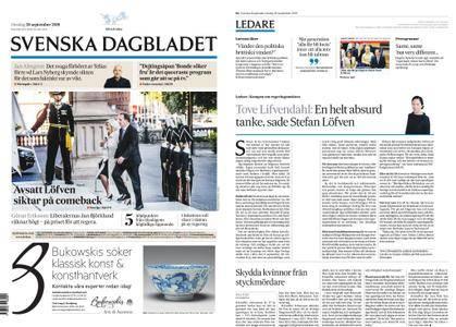 Svenska Dagbladet – 26 september 2018