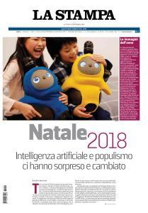 La Stampa Imperia e Sanremo - 24 Dicembre 2018