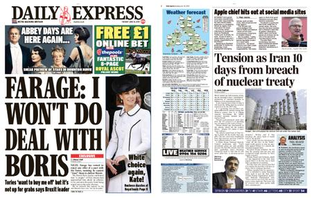 Daily Express – June 18, 2019