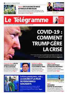Le Télégramme Brest Abers Iroise – 30 mars 2020
