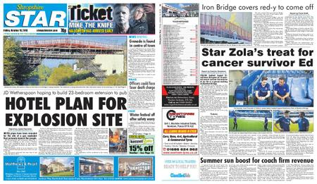 Shropshire Star Shrewsbury Edition – October 19, 2018