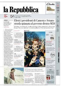 la Repubblica - 25 Marzo 2018
