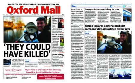 Oxford Mail – February 08, 2019
