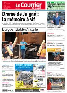 Le Courrier de l'Ouest Angers – 18 juillet 2019