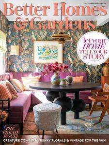 Better Homes & Gardens USA - September 2021