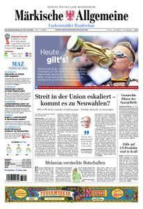 Märkische Allgemeine Luckenwalder Rundschau - 23. Juni 2018