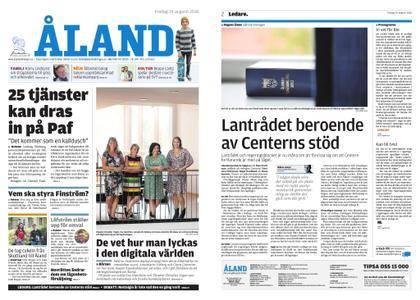 Ålandstidningen – 24 augusti 2018