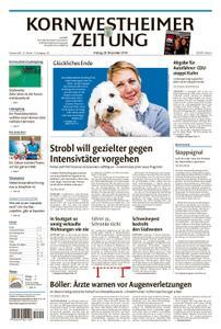 Kornwestheimer Zeitung - 28. Dezember 2018