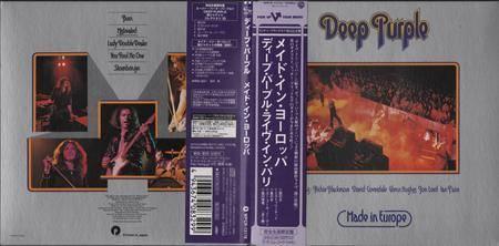 Deep Purple - Made In Europe (1976) [2008, Warner Music Japan, WPCR-13118] Repost